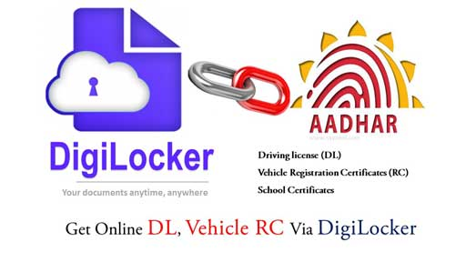 How To Get Online DL, Vehicle RC Via DigiLocker