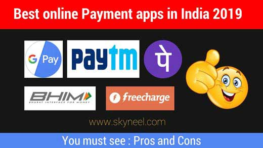 5 Best Online Payment Apps in India 2019
