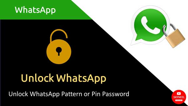 How to unlock WhatsApp
