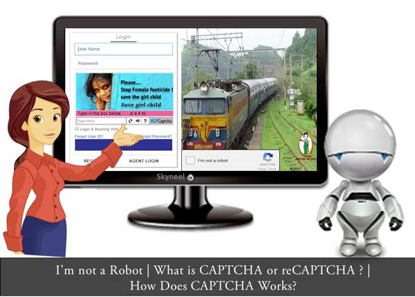 What is CAPTCHA or reCAPTCHA