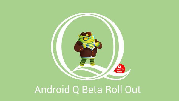 Android Q Beta roll out