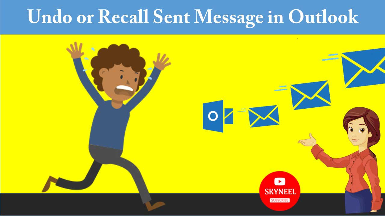 How to Undo or Recall Sent Message in Outlook