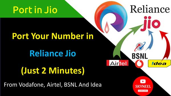 Port Your Number in Reliance Jio