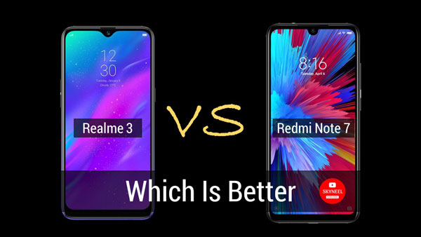 Realme 3 vs Redmi Note 7