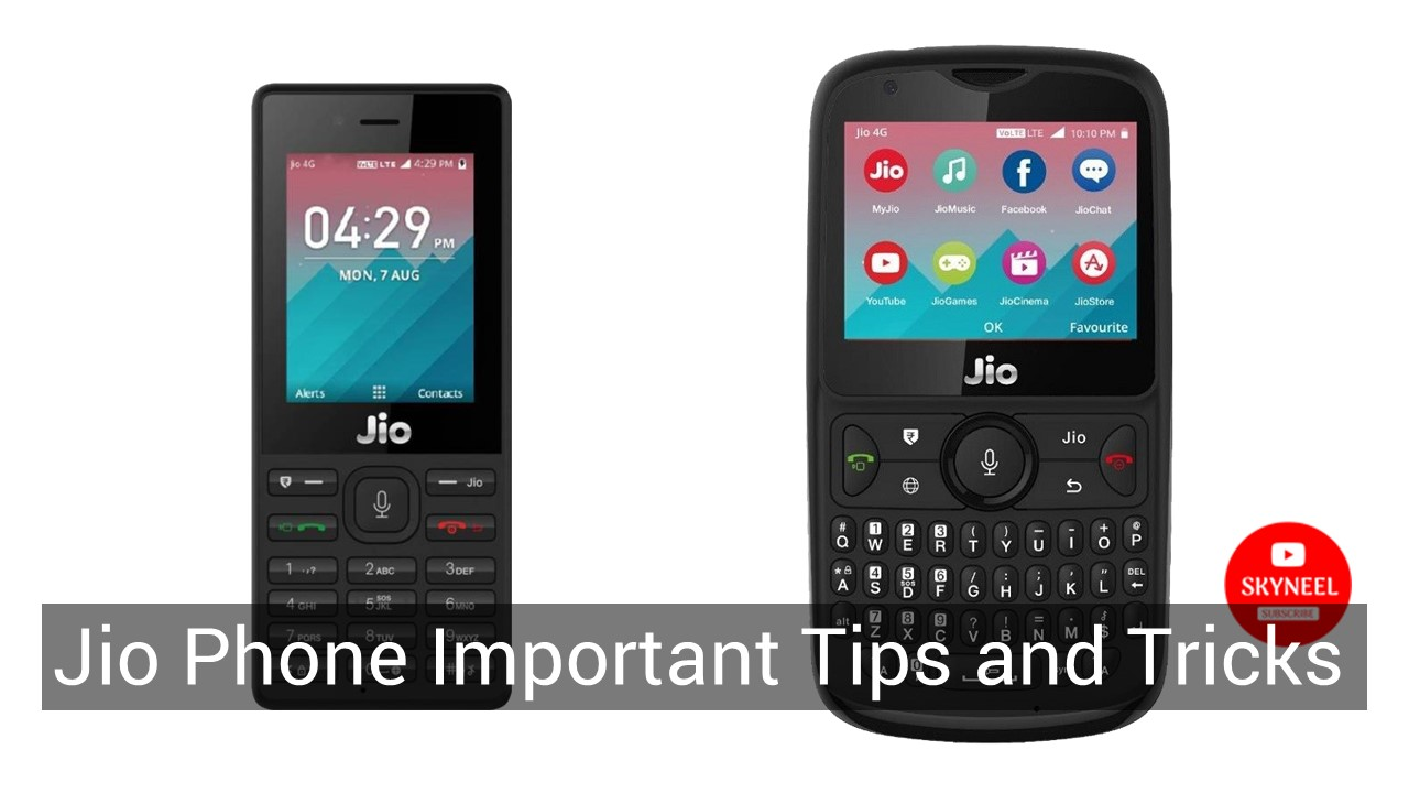 7 Jio Phone Important Tips and Tricks