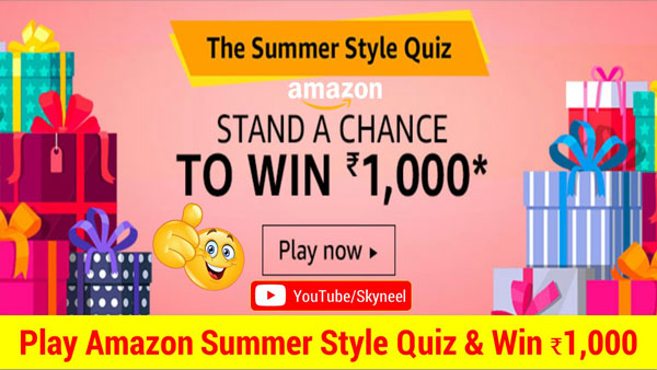 Amazon Summer Style Quiz Answers