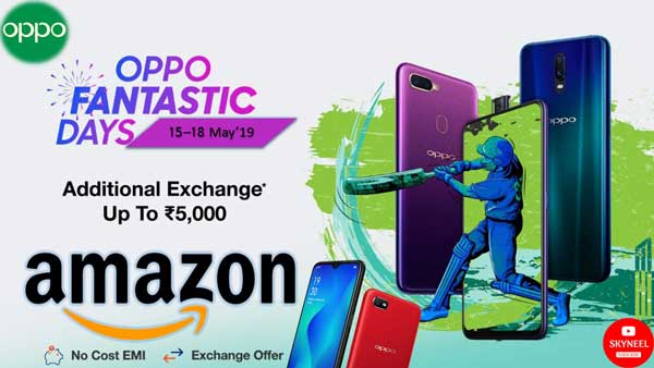 Oppo Fantastic Days Sale on Amazon