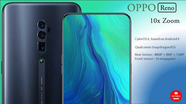 OPPO Reno 10x Hybrid Zoom Price and Specifications