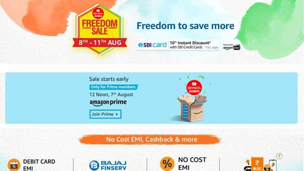 Amazon Freedom Sale 2019
