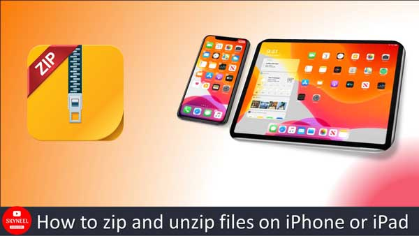 How to zip and unzip files on iPhone or iPad