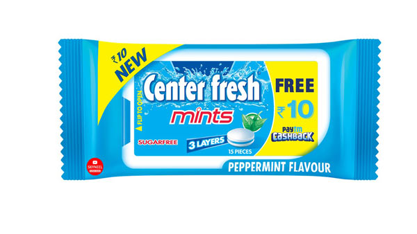 center fresh paytm offer