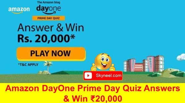 Amazon DayOne Quiz Answers