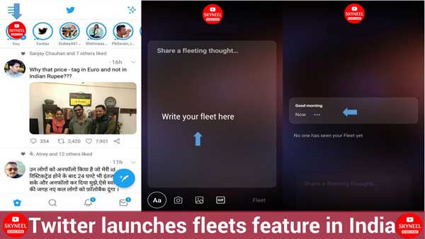 Twitter launches fleets feature in India