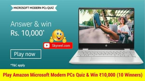Amazon Microsoft Modern Pcs Quiz Answers