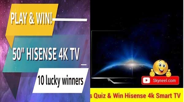 Flipkart Hisense Tv Quiz Answers
