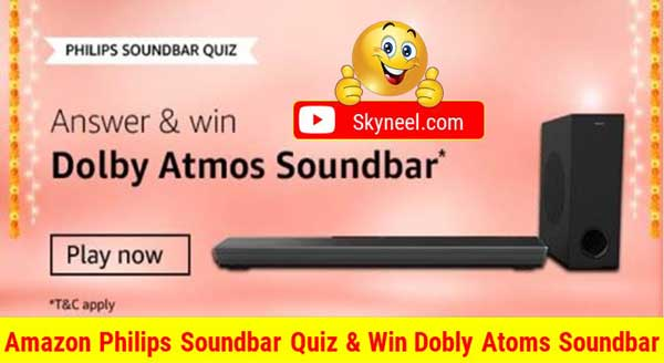 Amazon Philips Soundbar Quiz Answers