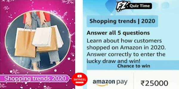 Amazon Shopping Trends Quiz Answers
