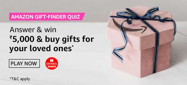 Amazon Gift Finder Quiz Answers