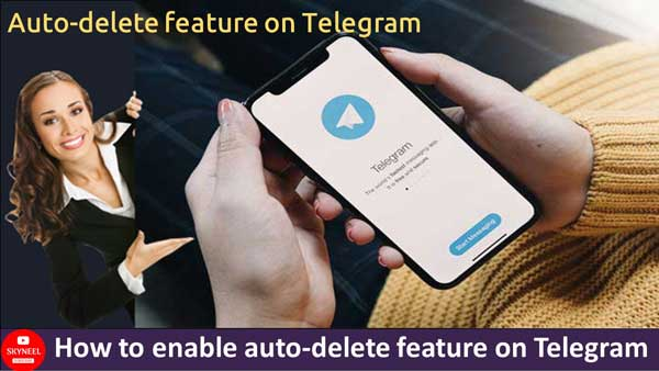 How to enable auto-delete feature on Telegram