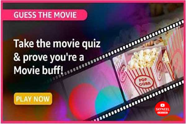 Amazon Guess The Movie Quiz Answers – Win Exciting Prizes